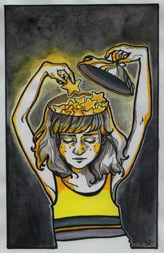 """Sasha Haritonova/Саша Харитонова /""""Зелёная лампочка"""""""