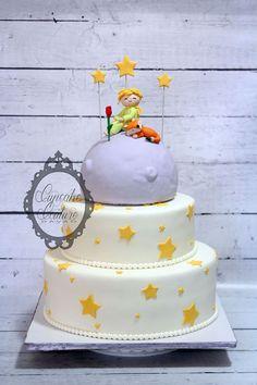 Le Petit Prince Birthday Cake Little prince  www.facebook.com/cupcakecouturedavao                                                                                                                                                                                 More