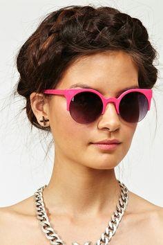 Loren Shades in Hot Pink