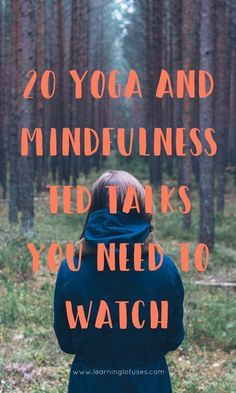 These are 20 recommended Ted Talks about Yoga and Mindfulness. How and why do Yoga, Meditation or practice Mindfulness. Learn about Yoga and Mindfulness. Ted Talks, Yoga Inspiration, Usui Reiki, Yoga Nature, Sup Yoga, A Course In Miracles, Pranayama, Kundalini Yoga, Best Yoga