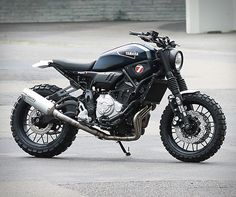 Yamaha's incredibly successful Yard Built program consists of renown customisers from around the world providing inspirational ideas on how to transform modern Yamaha models. Customers can then buy the kits and build their own custom bike. Custom bui