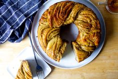 Smitten Kitchen: What happens when baklava meets a babka? Buttery, nutty, glossy woven happiness, either in a wreath-like ring or two individual loaves. It wants to be on your holiday table. New Recipes, Baking Recipes, Sweet Recipes, Dessert Recipes, Favorite Recipes, Desserts, Pastries Recipes, Yummy Recipes, Smitten Kitchen