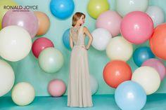 2016/2017 beautifully designed, detail back bridesmaid dress.