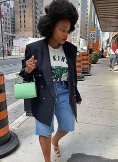 9 Casual Sunday Outfits You Can Always Fall Back On Black Girl Fashion, Denim Fashion, Fashion Outfits, Fashion Fashion, Runway Fashion, Sunday Outfits, Spring Outfits, Casual Sunday Outfit, Summer Fashion Trends