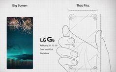 """LG nos vuelve a dejar pistas sobre el G6 y su 'Gran Pantalla'   Con la ausencia del Galaxy S8 LG podría acaparar aún más atención de la esperada.  LG no puede estarse callada y menos aún cuando quedan 20 escasos días para su esperadísima rueda de prensa. En la invitación formal de registro que los medios hemos empezado a recibir -sobre estas líneas- volvemos a ver la pantalla del smartphone o mejor dicho la """"Gran Pantalla"""" como LG la llama la cual promete """"encajar"""" perfectamente en la mano…"""