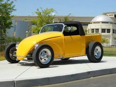Vw volks rod bug pickup