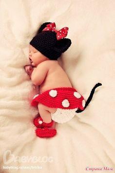 Вязаные идеи для фотоссесий малышей (интернет)-много фото - Вязание для детей - Страна Мам