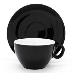Filiżanka latte Luna 250ml, czarna