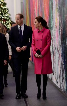 あまりの可愛さに即完売♥キャサリン妃がNYで着たマルベリーのピンクコートが話題 | by.S