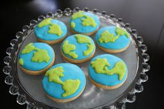 Earth Cookies for Earth Day!