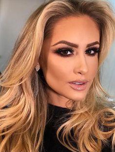 how to choose makeup idea for this fall Prom Makeup, Wedding Makeup, Hair Makeup, Eye Makeup Tips, Smokey Eye Makeup, Mauve Makeup, Evening Makeup, Gorgeous Makeup, How To Make Hair