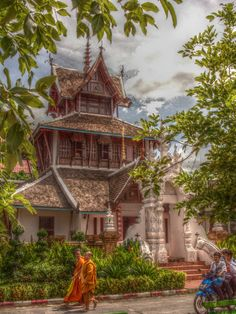 Wat Chedi Luang . Chiang Mai Thailand