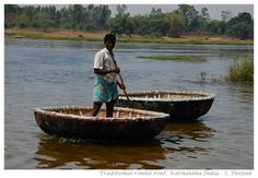 round boat in india | india when i look at the traditional round boats of south india ...