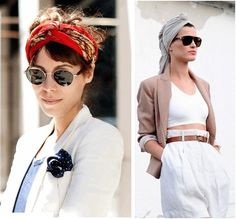 Cum transformi o esarfa in turban - Sfatul Stilistului TinaR Sarah Jessica Parker, Rachel Zoe, Kate Moss, Kurt Cobain, Cat Eye Sunglasses, Cape, Womens Fashion, Style, Feminine Style