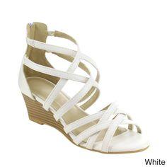 Beston Strappy Wedge Sandals