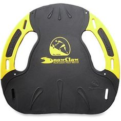 Snow Claw Guide Snow Shovel Yellow