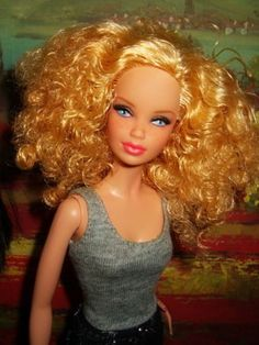 Barbie Basics OOAK Doll by coolmom90210