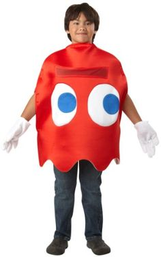 Child Deluxe Pac Man Blinky Costume True Reviews