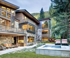 A Vail Valley Mountain Residence with Natural Elements