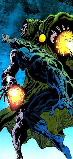 Image result for Black Panther vs Dr. Doom