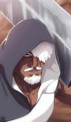 Darui - Raikage by aConst on DeviantArt Anime Naruto, Naruto Oc, Itachi, Anime Guys, Different Shades Of Black, Old Man Logan, Ninja, Naruto Wallpaper, Afro Art