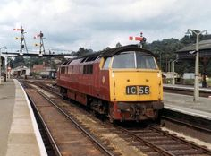 'Western Sultan' at Exeter sometime in the late (Fred Castor). See More. Electric Locomotive, Diesel Locomotive, Uk Rail, South Devon, British Rail, Train Pictures, Great Western, Steam Engine, Exeter