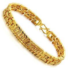 f59fece1fbab4 32 Best Mens Bracelet Gold Design By menjewell.com images in 2018 ...
