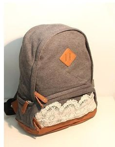 Japan Sweet Style Lace Backpack Vintage School Bag Campus Outdoor Rucksack | eBay...sold out from urban outfitters