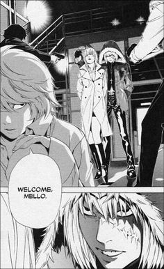 Mello / Near Death Note Manga