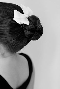 How to make a perfect ballerina bun. we do these all the time, good for our new gals to read.