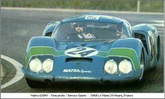 1968 Matra M 630  Matra (2.992 cc.)   Henri Pescarolo  Johnny Servoz-Gavin