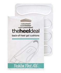 Another great find on #zulily! Clear The Heel Deal Back-of-Heel Gel Cushions - Set of Two by Solutions That Stick #zulilyfinds