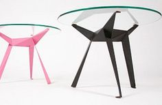 ORIGAMI DINING TABLE by Dickens & Wilson - Leigh Harmer