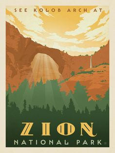 Anderson Design Group � American National Parks � Zion National Park
