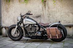 Harley Bobber Fux 2 #harleydavidsonfatboylow