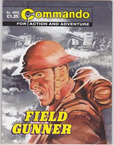 #4055 Commando Picture Library - FIELD GUNNER - 2007