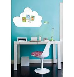 whiteboard and magnetic board sweet cloud for sweet dreams 54 x 80 cm Also available in 95 x 80 cm made in Belgium Wonderwall, Storage Facility, Whiteboard, My Happy Place, Girls Bedroom, Clouds, Architecture, Kids, House