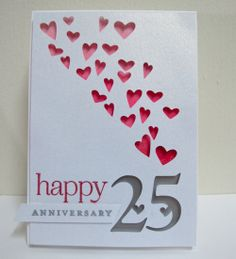 Happy 25th anniversary card for anyone celebrating a 25th 25th wedding anniversary flickr photo sharing m4hsunfo