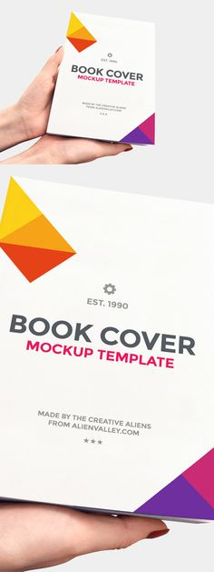 Free Book Cover Mockup | alienvalley.com | #free #photoshop #mockup