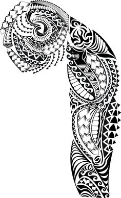 Full Tribal Sleeve / Free Tribal Tattoo Designs / Free Tattoo Designs ...
