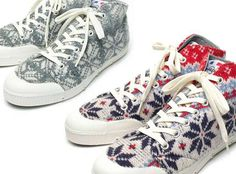 Spring Court B1 Snow Wool Sneakers Will Keep Your Feet Warm & Fuzzy trendhunter.com