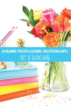 Building professional relationships as a teacher requires intention and time. Two seasoned teachers provide methods for working with teachers, co teachers, and administrators. Parents As Teachers, New Teachers, Your Teacher, Persuasive Writing, Writing Rubrics, Paragraph Writing, Opinion Writing, Writing Lesson Plans, Professional Development For Teachers