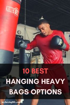 My review on the top 10 hanging heavy bags and advice on how they can actually benefit you including the pros and cons. Boxing Training Workout, Boxing Training Gloves, Speed Workout, Mma Workout, Workouts, Workout Routines, Best Punching Bag, Heavy Punching Bag, Boxing Boots