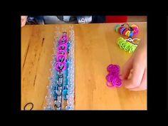 Uitleg : 4 elastiekjes (ringen) armband.
