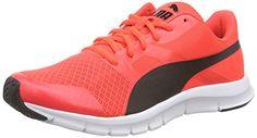 Puma Flexracer, Unisex-Erwachsene Sneakers, Orange (red blast-black 02), 40 EU (6.5 Erwachsene UK) - http://on-line-kaufen.de/puma/40-eu-puma-unisex-erwachsene-flexracer-sneakers-6