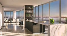 Miami Penthouse interiors | miami miami usa interior design project of a 400 sqm penthouse located ...
