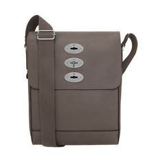 New Mulberry Arrivals for Men - Slim Brynmore in Grey Soft Grain