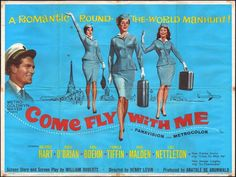 Come Fly With Me #movie #poster (1963)