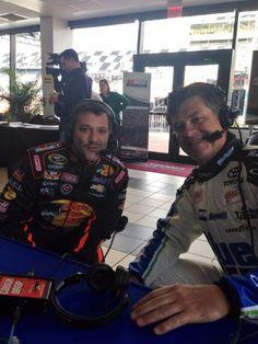 Welcome back friend #Smoke 2014 Daytona Media Day