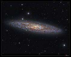 """NGC253 """"Silver Dollar galaxy"""""""